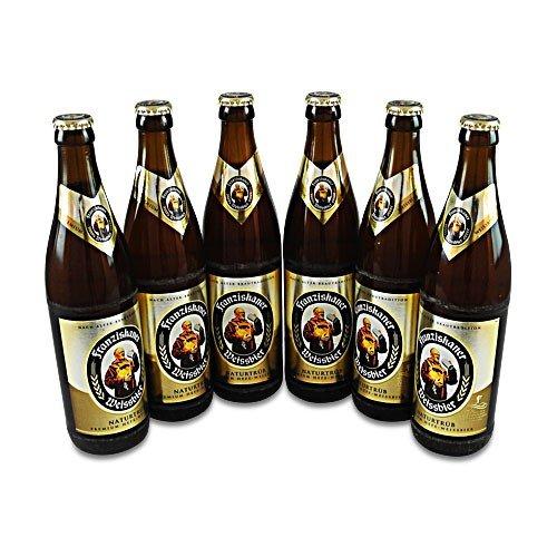 Franziskaner Weissbier naturtrüb (6 Flaschen à 0,5 l / 5,0% vol.)