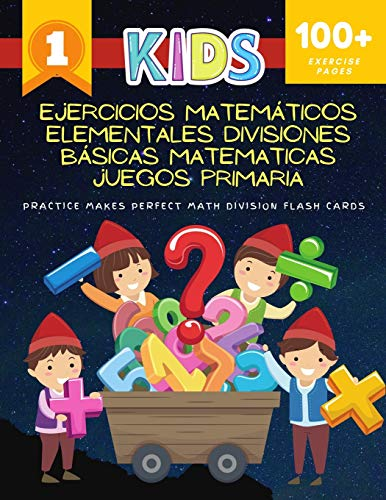 Ejercicios Matemáticos Elementales - Divisiones Básicas Matematicas Juegos Primaria Practice Makes Perfect Math Division Flash Cards: Easy daily ... First division flashcards games for kids