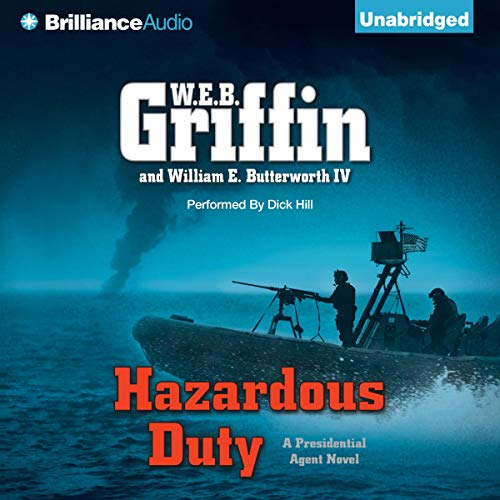 Hazardous Duty audiobook cover art