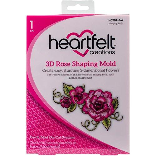 Heartfelt Creations Shaping Mold-3D Rose