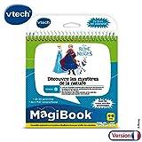 VTech - Livre MagiBook - La Reine des Neiges - Découvre les mystères de la nature, livre éducatif
