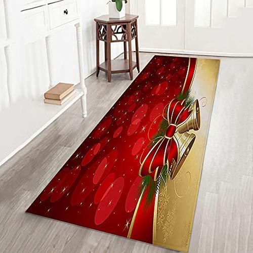 Amphia - Frohe Weihnachten Willkommen Fußmatten Indoor Home Teppiche Decor 40x120CM