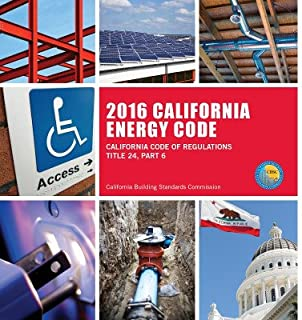 2016 California Energy Code, Title 24, Part 6 (Loose Leaf)