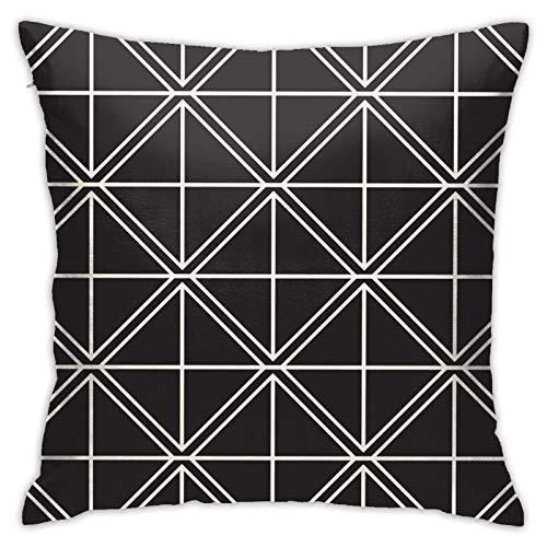 MZZhuBao Funda de almohada abstracta con diseño cuadrado para el hogar, decoración para hombres/mujeres, sala de estar, dormitorio, sofá, silla