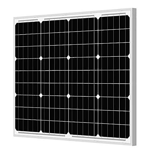 ANEKARTH SOLAR 50 Watt - 12 Volt Mono PERC Solar Panel