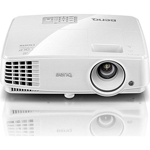 BenQ MS527, Proyector DLP 3D (SVGA, 3D, HDMI), HDMI+VGA, 3300 Lúmenes, Blanco