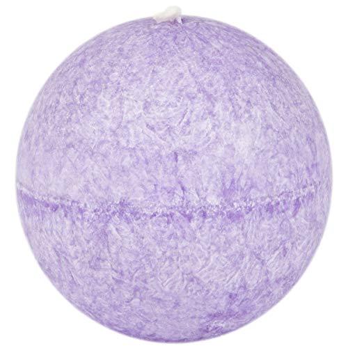 Bougie boule parfumée 80 mm parfum de lavande stéarine Adpal