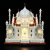 LED Light Kit for Lego Architecture Taj Mahal 21056 Building Set, USB Powered Lighting Kit for Lego 21056 Set (Basic Version)