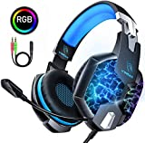 Auriculares Gaming PS4, YINSAN Cascos Gaming Premium Estéreo con...