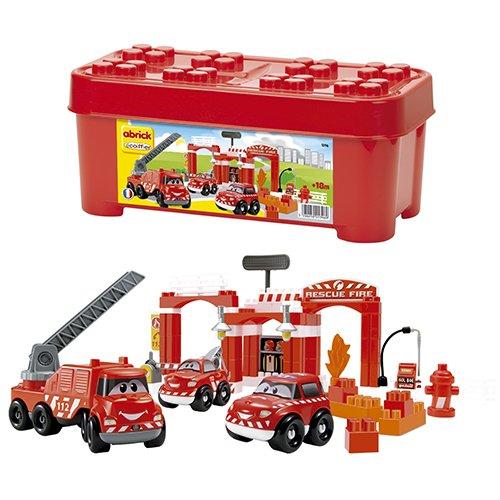 Ecoiffier 1396– Box Feuerwehrmann–Abrick