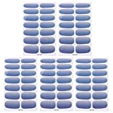 5 Sheets Full Cover Nail Art Stickers Nails Tip Decal Manicure Nail Art Tip for for DIY Nail Art Making