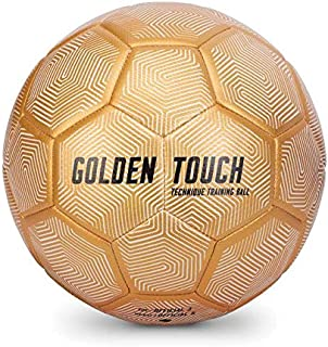 SKLZ Soccer Golden Touch - Smaller training ball builds technique, touch and control while maintaining the weight of a reg...