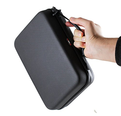 Navitech Black Shock Proof/Waterproof Walkie Talkie/Radio Case/Cover Compatible with TheTheSpiderman Walkie Talkies