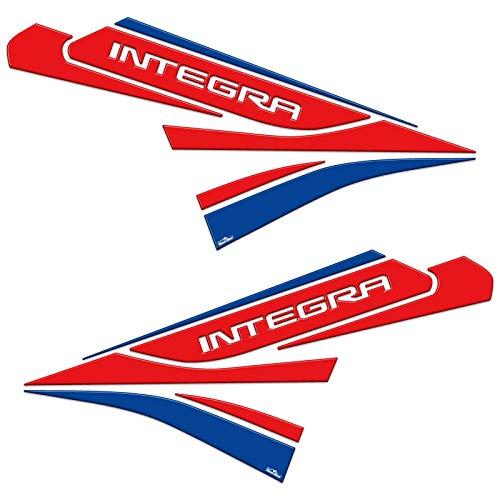Adhesivos 3D Protecciones Lateral 01 Compatible con Honda Integra 2011-13