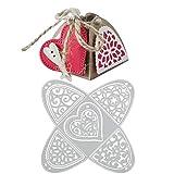 VINFUTUR Stanzschablone Süßigkeitenbox, Metall Prägeschablonen Stanzmaschine Stanzformen...