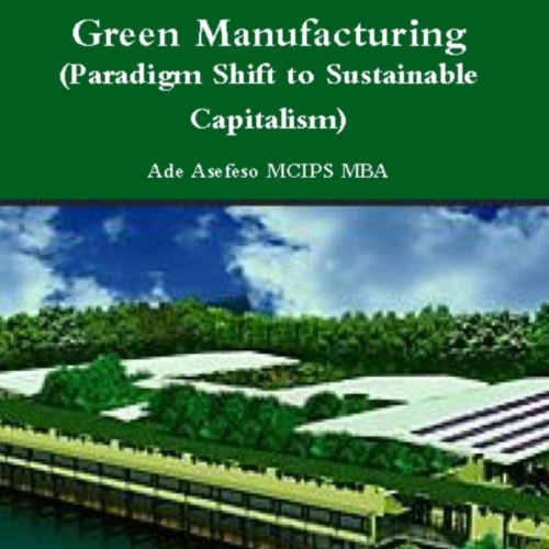 Green Manufacturing audiobook cover art