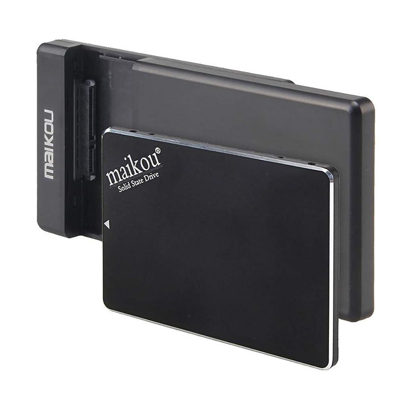 嬉しいです収束生き物Almencla 2.5インチSATA III 6Gb/s SSD 外付け120GB ソリッドステートドライブ ハードドライブケースとUSBケーブル付き ノートパソコン デスクトップ用