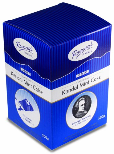 ROMNEY'S of Kendal Everest Cube - An Assortment of White, Brown and Rich Belgian Chocolate Coated Mint Cake Pieces 500g / 17.63oz