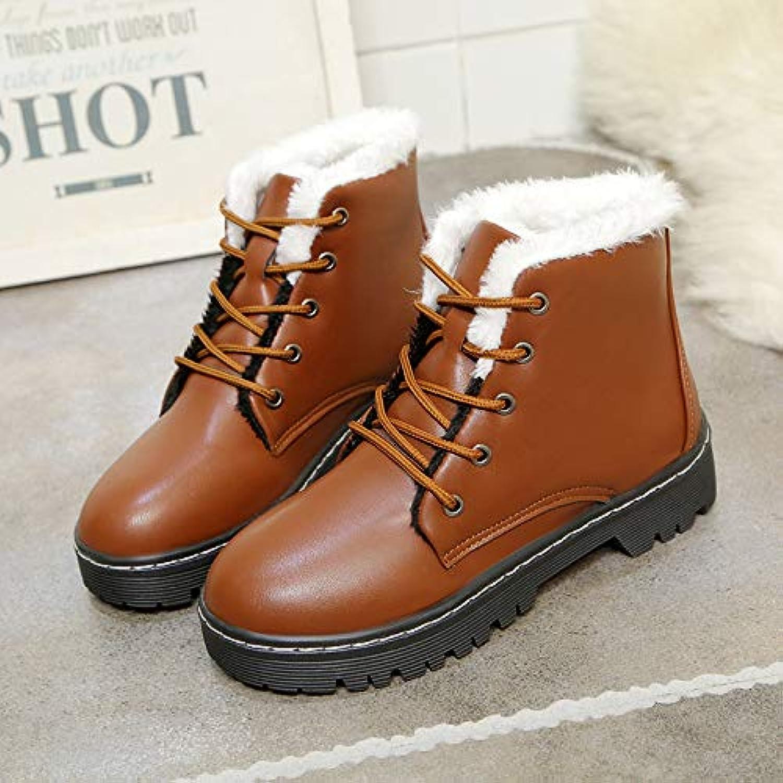 Top Shishang Dicke warme Baumwollstiefel Martin Stiefel Spitze  | Garantiere Qualität und Quantität