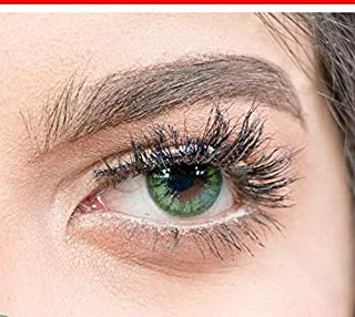 vision color cosmatic lenses ( forest green )