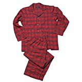 Irischer Schlafanzug aus Baumwollflannel für Damen und Herren.