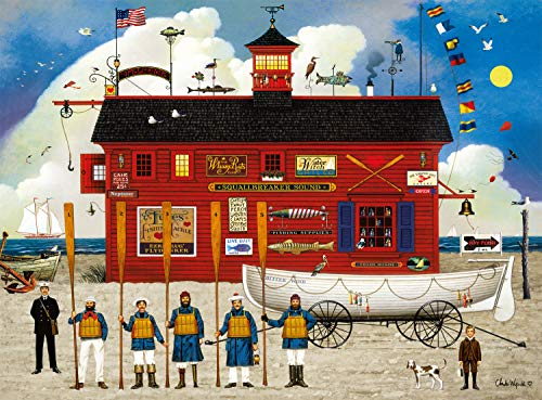 1,000-Piece Buffalo Games Charles Wysocki The Sea Buglers Jigsaw Puzzle $8.18 - Amazon
