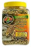 Zoo Med Natural Juvenile Bearded Dragen Food, Futterpellets für Bartagamen 567g, mit Vitaminen und Mineralien
