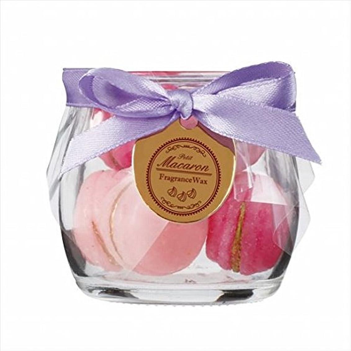 ブッシュ抵抗するマイクロフォンスイーツキャンドル( sweets candle ) プチマカロンフレグランス 「 バニラ 」 キャンドル