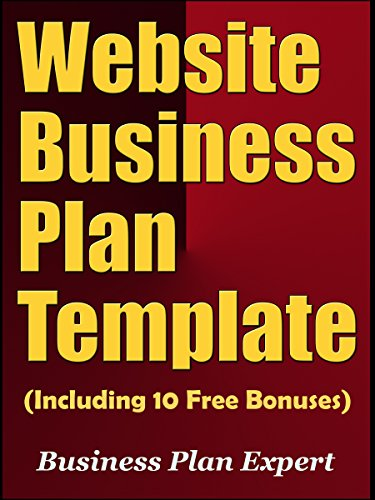 Website Business Plan Template (Including 10 Free Bonuses) (English Edition)