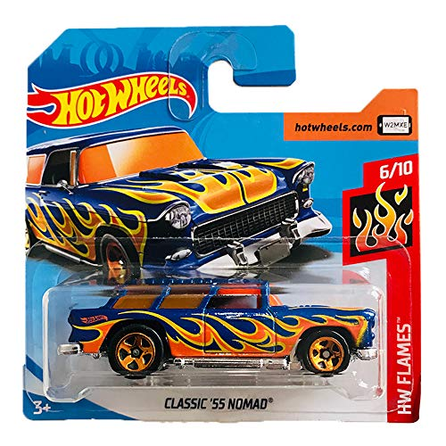 Hot Wheels Classic '55 Chevrolet Nomad HW Flames 6-10