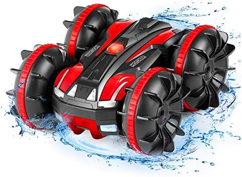 Remote Control Car Boat Truck Amphibious All Terrain 4WD 2 4Ghz Stunt Car RC Off Road Monster product image