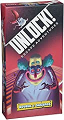 A cooperative tabletop adventure for up to six players Experience a cartoon escape room through a sixty-card deck Solve puzzles to unlock new cards and objects Free companion app tracks time, gives hints, and confirms victory Learn the game quickly w...