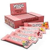 Moove Bar - Barrita de Fruta Vegana Sobre una Base de Chocolate - Sabores mixtos - (18x 30g )