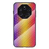 BINGRAN Huawei Mate 40 RS Hülle Case,Hyun Farbe