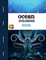 Ocean Coloring Book: Ocean Creatures Coloring Book for Adults