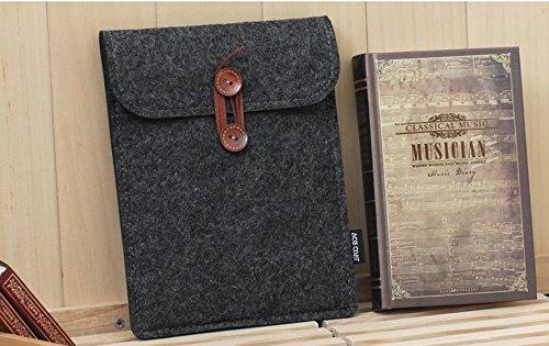 ENJOY-UNIQUE Für KOBO Aura One 19,8cm eReader Filz Schutzhülle Sleeve Tasche für iPad Mini (schwarz)