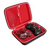 Hermitshell Estuche de viaje duro para SNAPTAIN H823H Plus Mini Drone (Negro+Rojo)