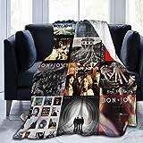 B-o-n Jo-v-i Flannel Fleece Blanket Ultra Soft Warm Cozy Plush Bed Blanket Lightweight Sofa Throw Blanket in Winter(Size 50' X 40',60'x50',80'x60'Inch)