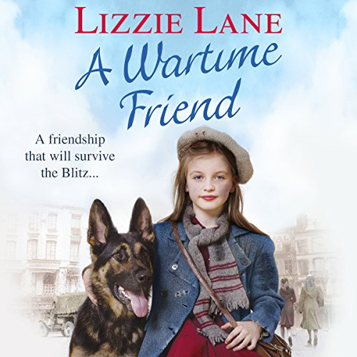 A Wartime Friend audiobook cover art