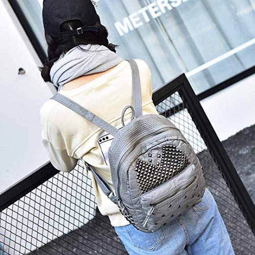 LIUQIAN Damen Tasche Rucksack Mode Tasche waschen Leder Rucksack