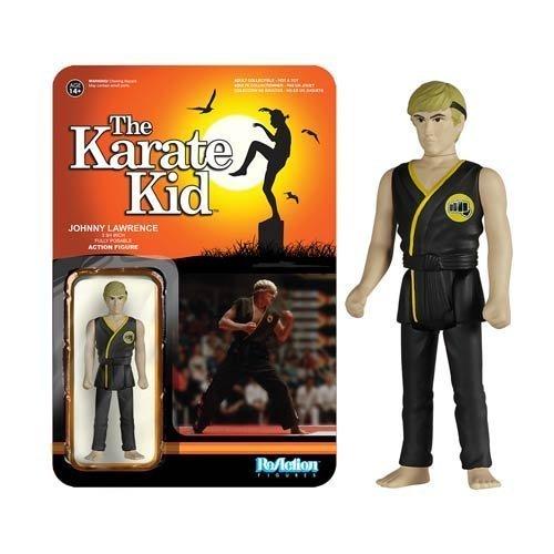Karate Kid Johnny ReAction 3 3/4-Inch Retro Action Figure by Karate Kid