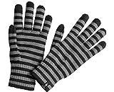 Smartwool Striped Liner Glove Black MD