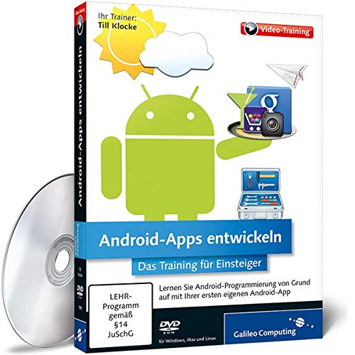 Preisvergleich Produktbild Android-Apps entwickeln - Grundlagen und Praxisbeispiele zu den Versionen 2,  3 und 4