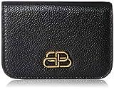 [バレンシアガ] 三つ折り財布 601387 1IZ7M レザー 本革 ブラック/ブラック [並行輸入品]