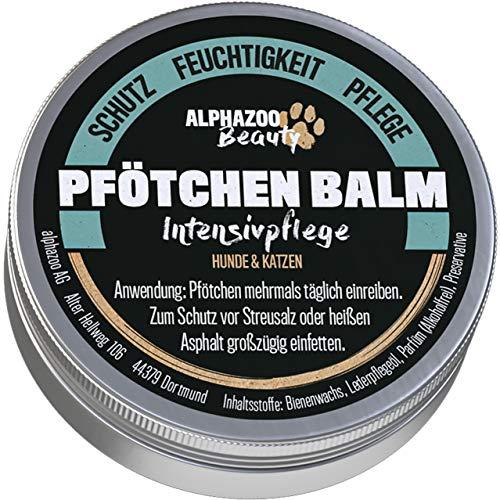 alphazoo Pfötchen Balm Baume pour pattes de chien, protection des pattes à la cire d'abeille, soin des pattes de chien, crème onguent pour callosités couchées, protection et douceur des pattes