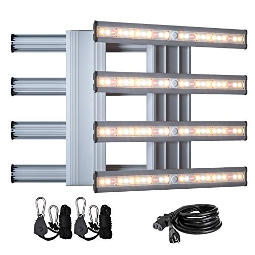 CDMALL Full Spectrum LED Grow Light 240W Pro Series New Tech LED Grow Lamp Sunlike for Hydroponics Indoor Plants Veg and Flower