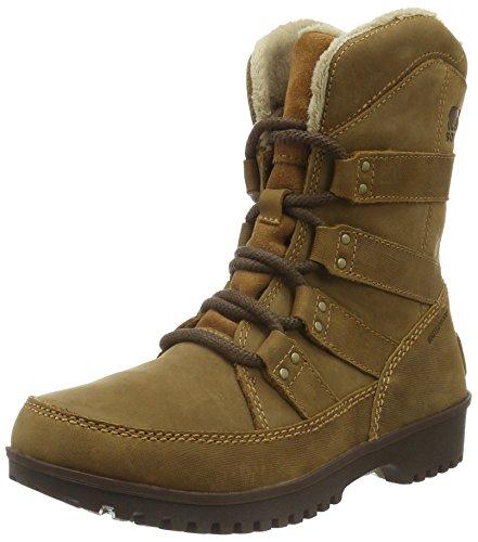 Sorel Women's Meadow LACE Premium Snow Boot, Elk, 5 B US
