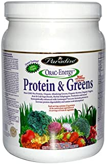 Paradise Herbs Orac Energy Protein Greens - 454 gm, 3 pack