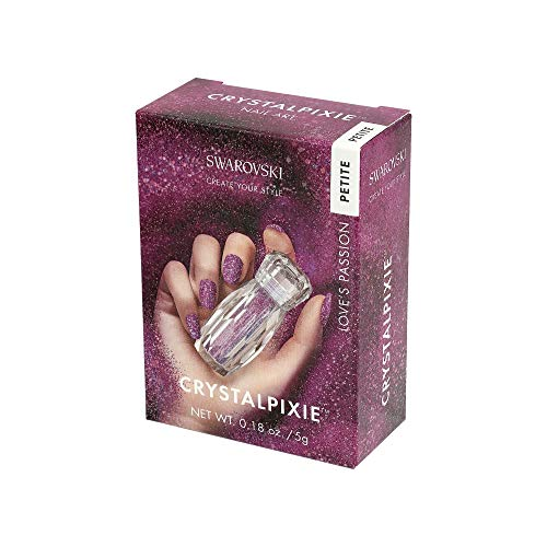 Swarovski Crystal Pixie Petite Nail Box 5g Love'S Passion