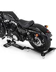 Peana Aparcamiento Moto para Harley Davidson Sportster 1200 Nightster (XL 1200 N) ConStands M2 Negro